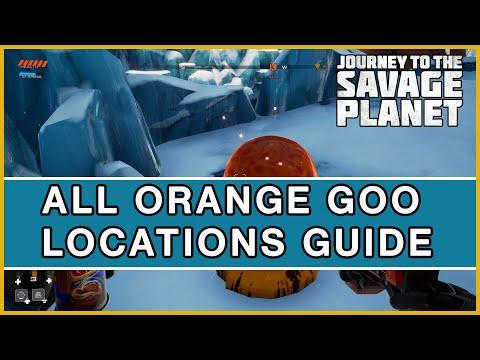 Journey to the Savage Planet - All 100 Orange Goo Locations