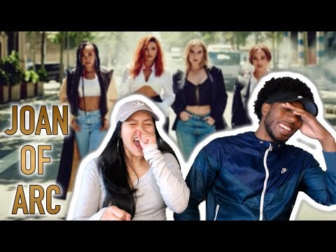 THE NEW INDEPENDENT WOMAN ANTHEM!! LITTLE MIX - JOAN OF ARC (AUDIO) | REACTION