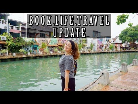 BOOK, LIFE & TRAVEL UPDATE!