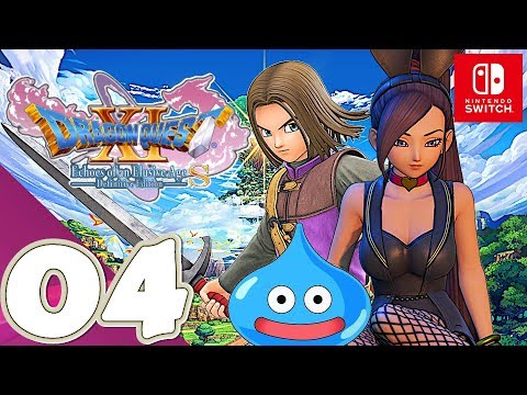 DRAGON QUEST XI S [Switch] - Gameplay Walkthrough Part 4 Octagonia & Dundrasil - No Commentary