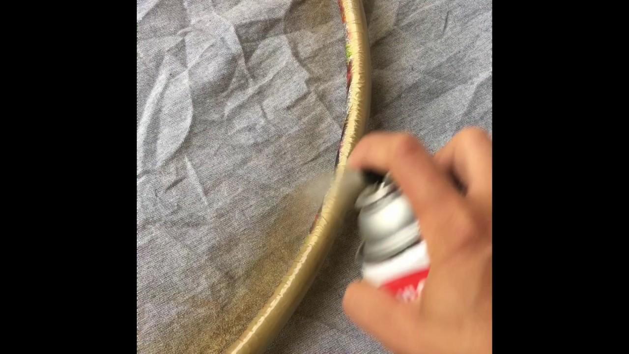 DIY: Hula Hoop Wreath Tutorial - YouTube