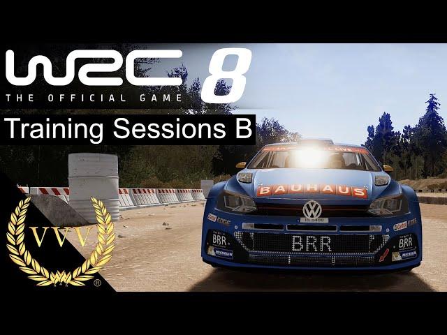WRC 8 Training Sessions B