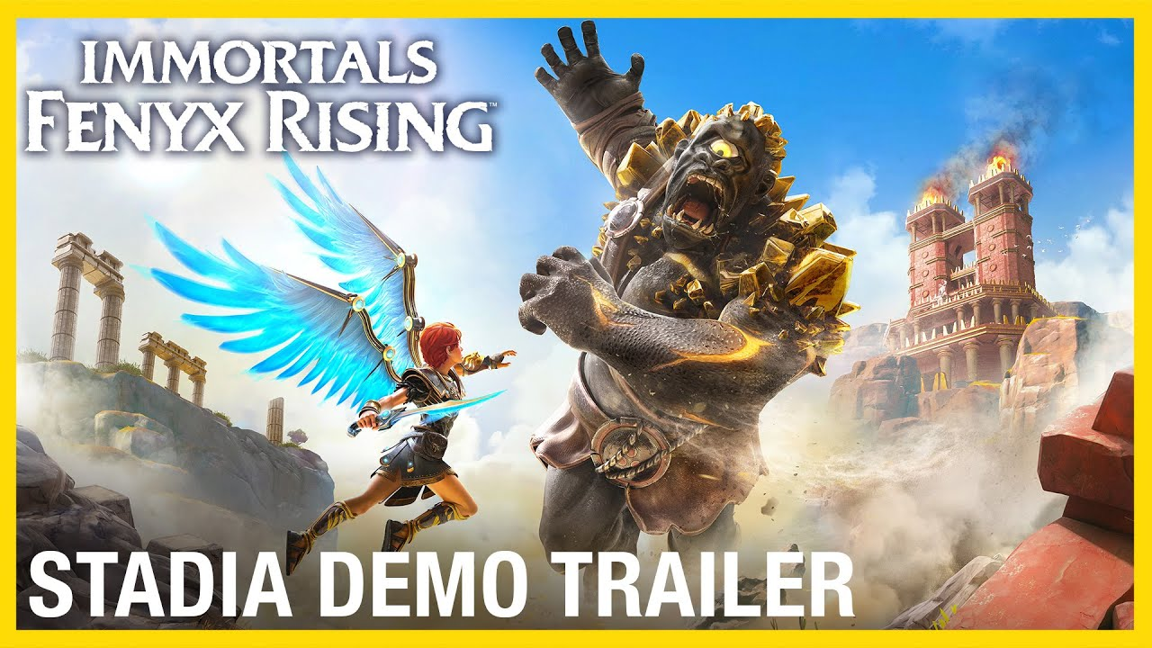 Immortals Fenyx Rising: Stadia Demo Trailer | Ubisoft