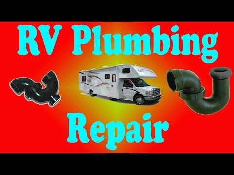 RV Leaky Shower Drain  Plumbing Repair and Tips