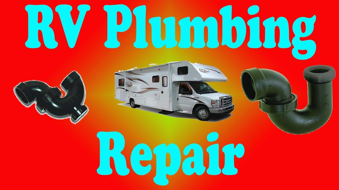 RV Leaky Shower Drain Plumbing Repair and Tips - YouTube