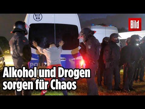 Randale im Stadtpark: Nächtliche Partys und Verstöße gegen Corona-Regeln | Hamburg