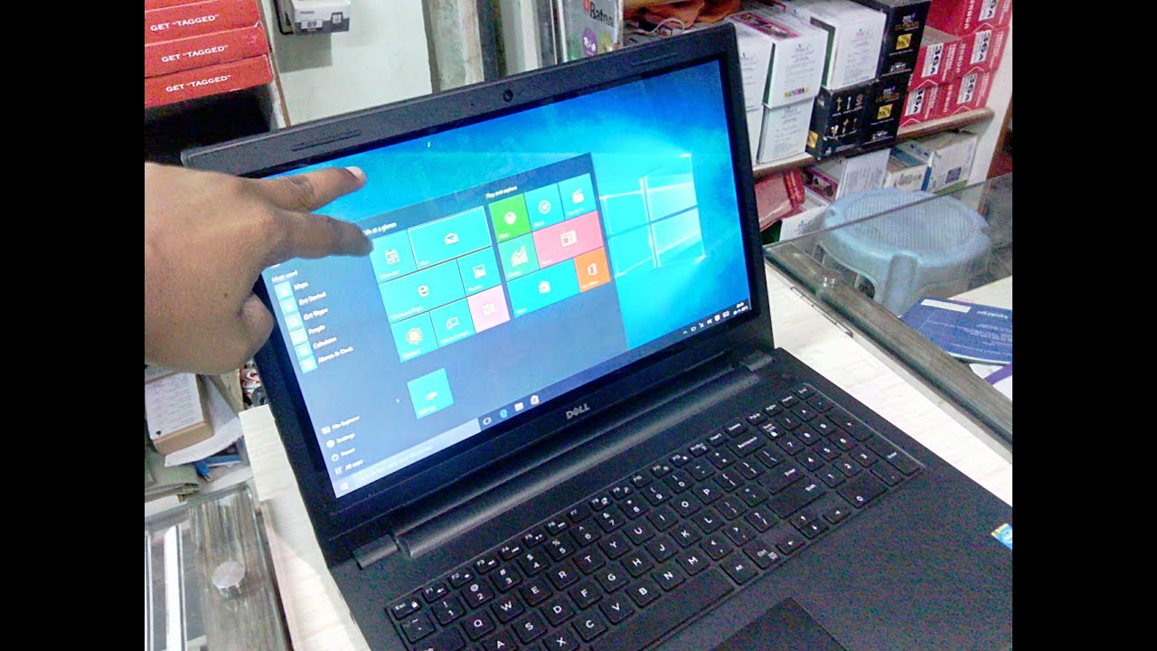 Unboxing Dell Inspiron 3542 Touch Screen Laptop (i5/4GB/1TB/2GB)