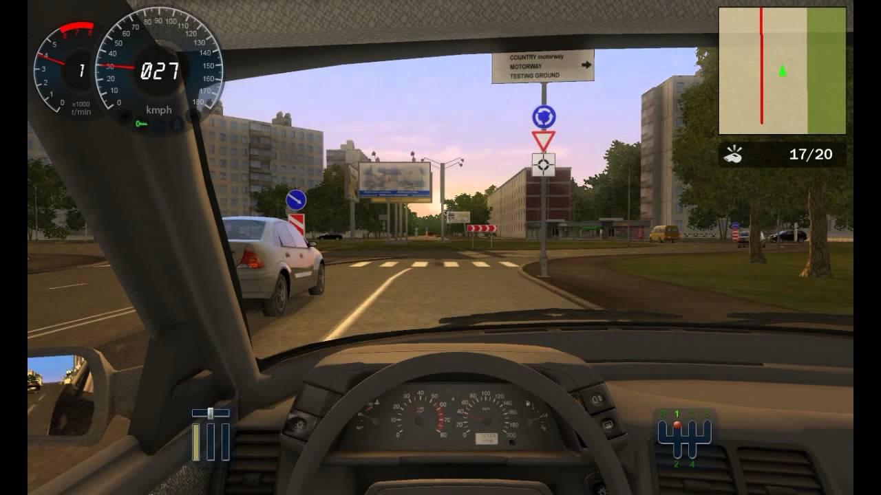 city car driving je passe mon permis et heureusement que c 39 est un jeu youtube. Black Bedroom Furniture Sets. Home Design Ideas