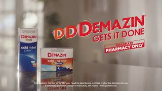 Cold or Flu? D-D-Demazin Gets it Done