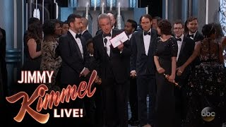 Jimmy Kimmel Reveals What Really Happened at Craziest Oscars Ever thumbnail