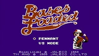 Bases Loaded - NES Gameplay