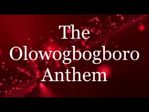 The Olowogbogboro Anthem - Nathaniel Bassey ft Wale Adenuga (Lyrics)