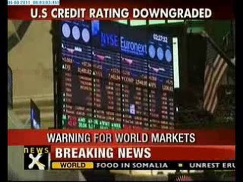 US stripped of AAA credit rating by S&P