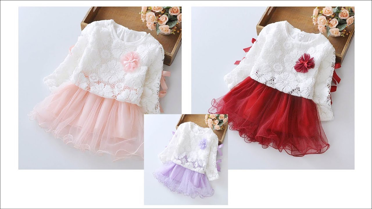a448399e646a8 Baby Girl Dress 2017 New Princess Infant Party Dresses for Girls