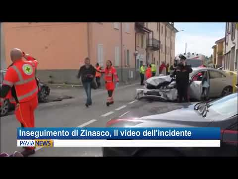 Inseguimento di Zinasco, ecco il video del drammatico incidente