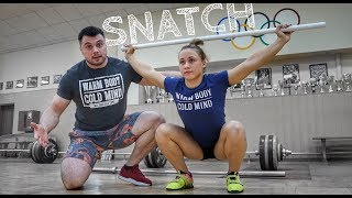 How to Snatch: Beginners Guide of Olympic Weightlifting / Torokhtiy & Rebeka
