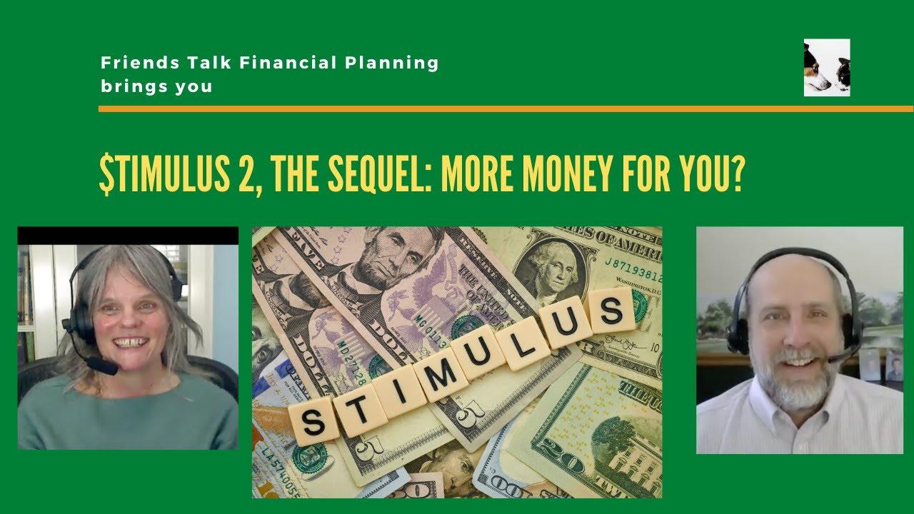 Stimulus Update:  Stimulus checks plus more PPP