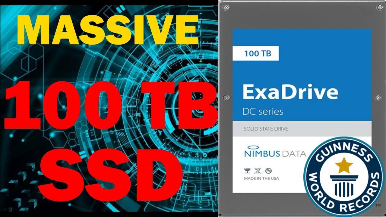 acheter en ligne 37f8f 1c2b5 World's LARGEST SSD At 100TB!   Nimbus Data ExaDrive DC100