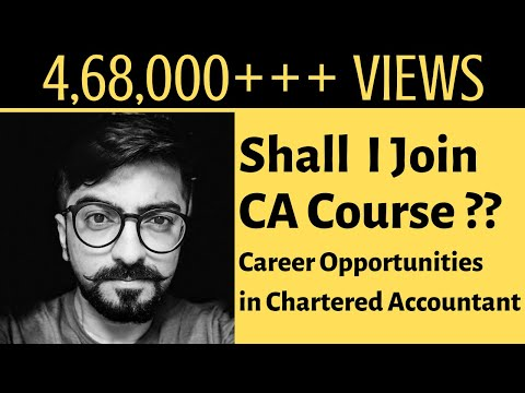 CA Course Is For What Type Of Students? Career Opportunities In Chartered Accountancy