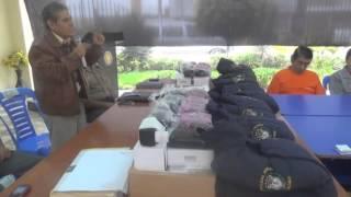 Entrega de casacas a las Juntas Vecinales en el Distrito de Hualmay - 2014