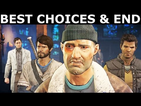 The Walking Dead Episode 3 - The Best Choices & Ending (Season 3 A New Frontier) (No Commentary)
