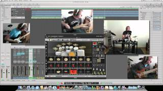 BFD2 (Neil Peart) and Amplitube 3 Song Test.mov
