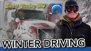 Live Q&A -  Winter Driving Tips, Passing A Road Test, or Starting a CDL Career :: Smart Sunday #14