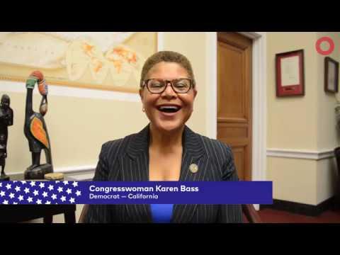 Congresswoman Karen Bass D Ca Global Citizen Festival