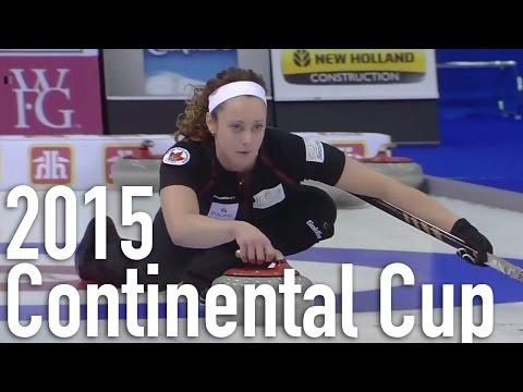 Homan (CAN) vs. Muirhead (EUR) - 2015 World Financial Group Continental Cup (Draw 8)