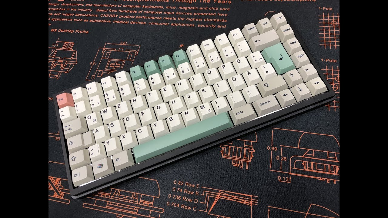 TX Keyboards TX75 Build Live Stream (Ergo Clear Cherry Switches)
