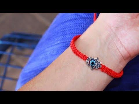 ★Красная ниточка на запястье - не просто талисман счастья и удачи. Этот амулет