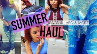 Summer Haul: PacSun, American Eagle & More | SIMPLYNESSA15|