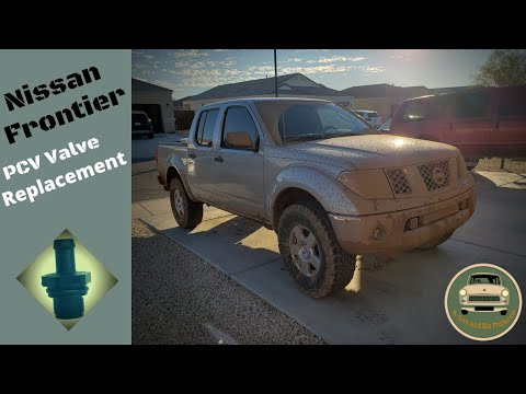 Nissan Frontier PCV Valve Replacement 2005 - 2019 2nd Gens