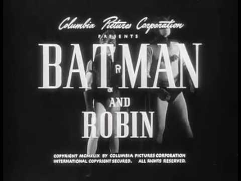 Batman And Robin (1949) Episode 4 Batman Trapped!