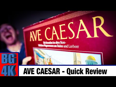 Ave Caesar - Boardgames4K Review - Still Worth It?