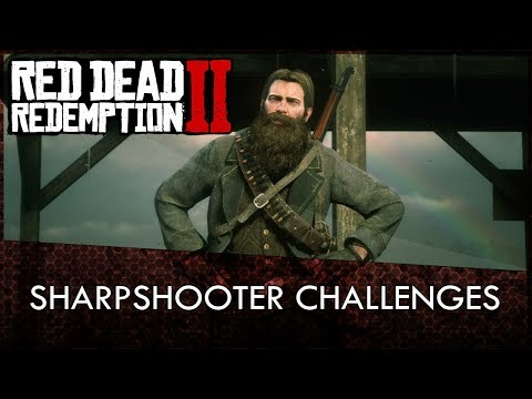 Red Dead Redemption 2 Sharpshooter Challenges Guide