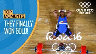 Top 5 Athletes Who Finally Won Gold