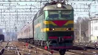 """ЧС7-167 с поездом №92 """"Москва - Северобайкальск"""""""