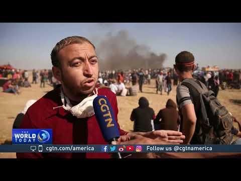 Dozens of Palestinians killed in Gaza-Israel border clashes