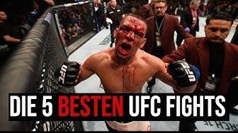5 LEGENDÄRE UFC KÄMPFE, DIE MAN GESEHEN HABEN MUSS!