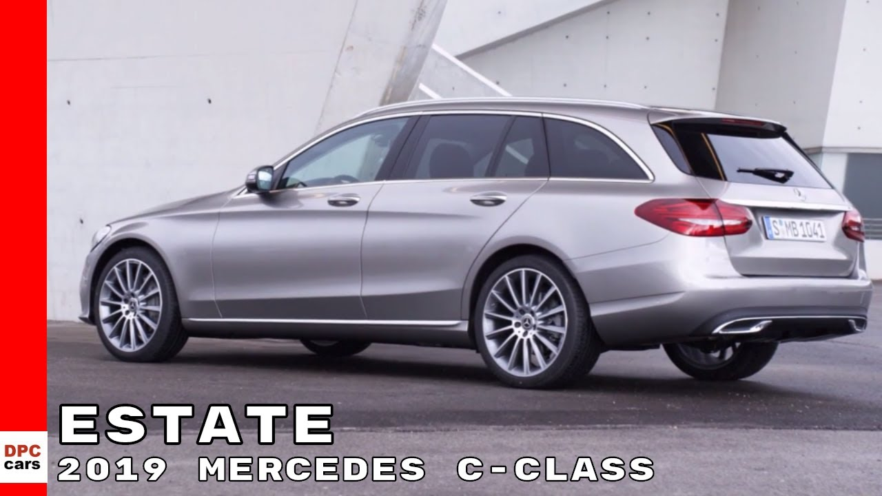 2019 Mercedes C Class Estate Wagon Youtube