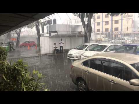 Rain season in Sri Lanka. 15 min )