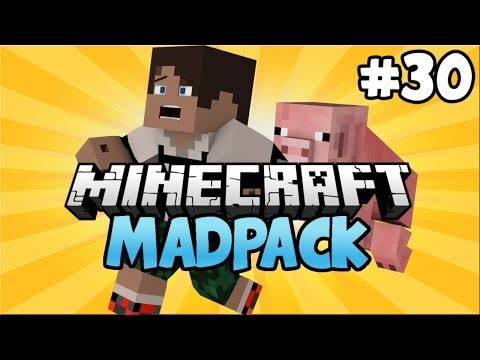Minecraft: MADPACK Modded Survival - Episode 30 - Electro Magic Tools Compressed Solar Panels