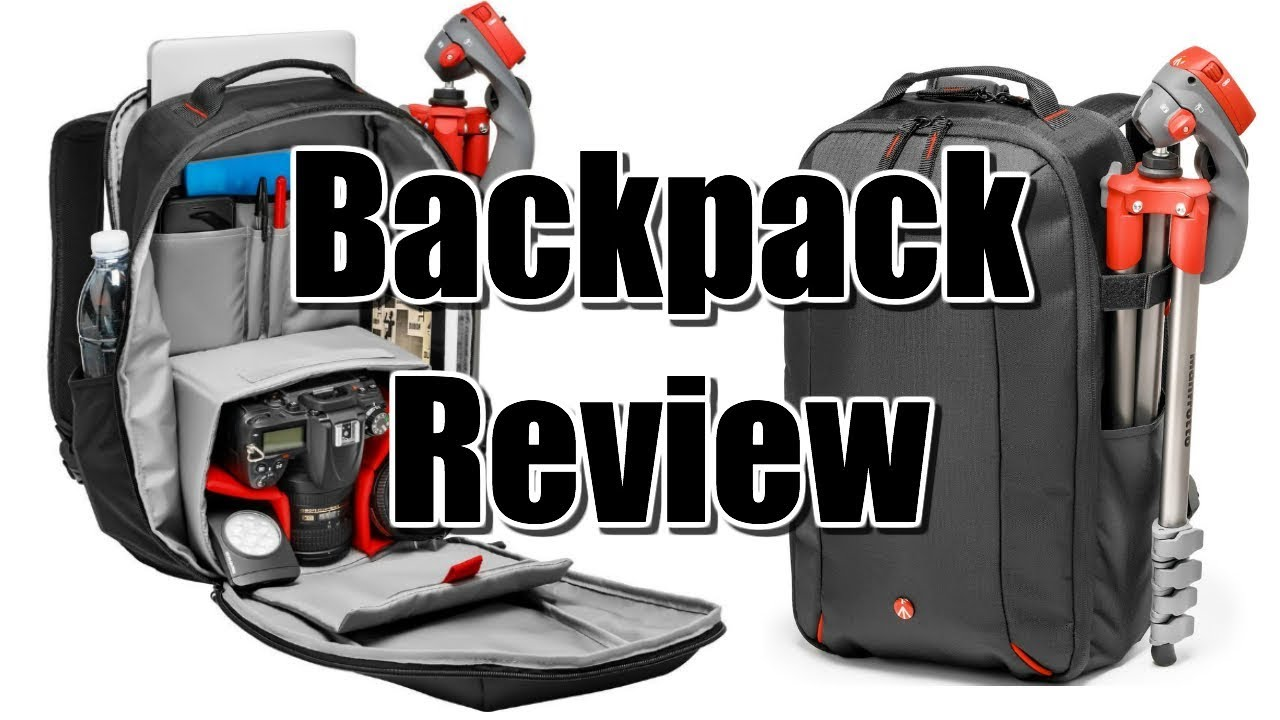 b164603755d4 Manfrotto Essential DSLR Backpack Review - YouTube