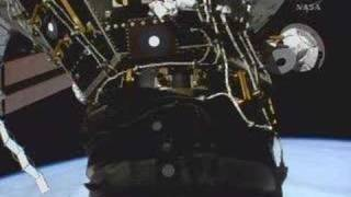 Atlantis Docks to Space Station Feb. 9