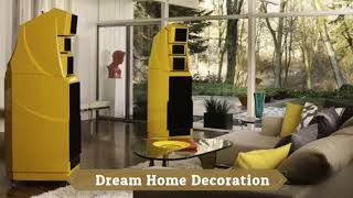 Home Decoration Styles for Modern Homes Hi fi systems for home  Music in the design of new house