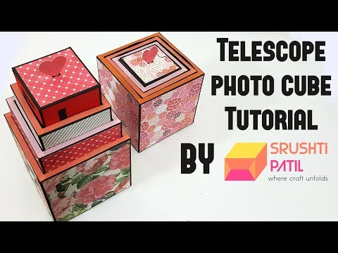 Telescope photo cube Tutorial by Srushti Patil | Valentine Special