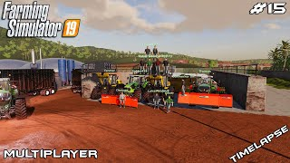 Sugar cane and silage harvest | Estancia Lapacho | Multiplayer Farming Simulator 19 | Episode 15
