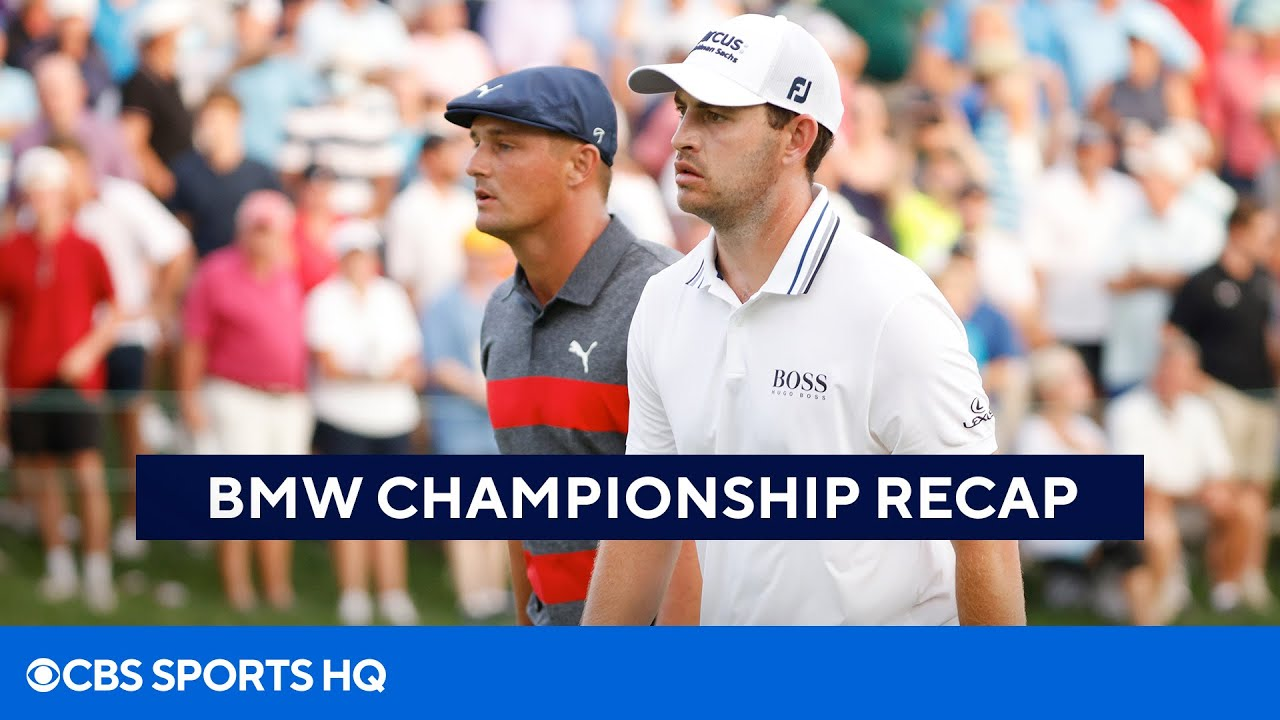 Cantlay outlasts DeChambeau in BMW Championship playoff