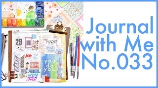 Journal and Java Fail | Journal with Me No. 033 + Feb Favs